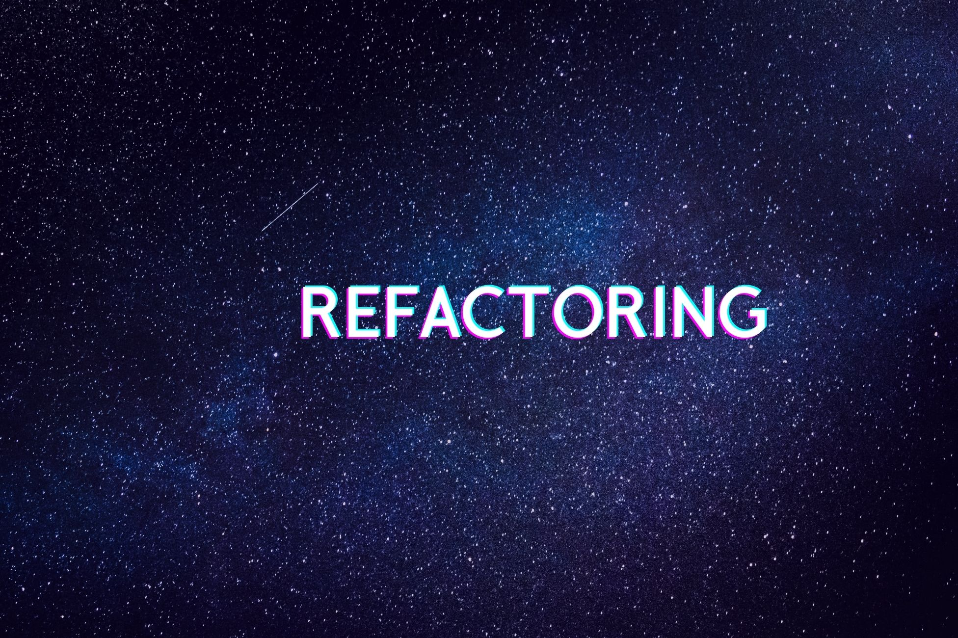 Refactoring: semplifichiamo la leggibilità del nostro codice